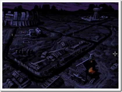 Una delle prime località che si visiterà nel gioco