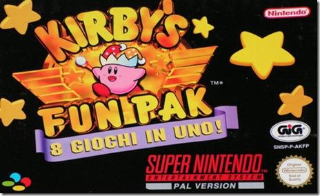 Kirby's Fun Pak ita cover