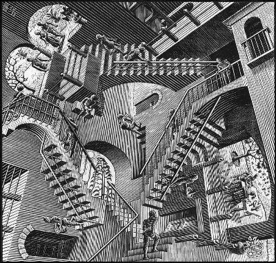 Escher - Relatività