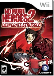 No More Heroes 2 - PAL Cover
