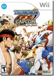Tatsunoko vs. Capcom - PAL Cover