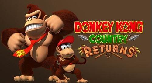 Donkey Kong Country Returns - logo