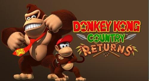 Donkey Kong Country Returns - logo