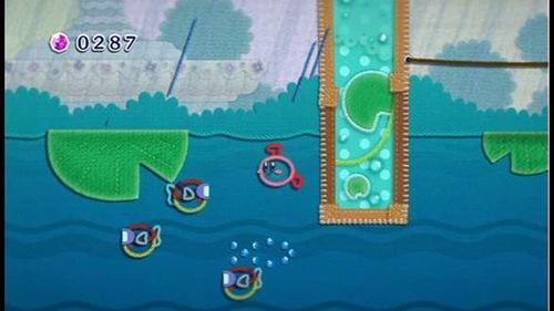 Kirby's Epic Yarn - screenshot