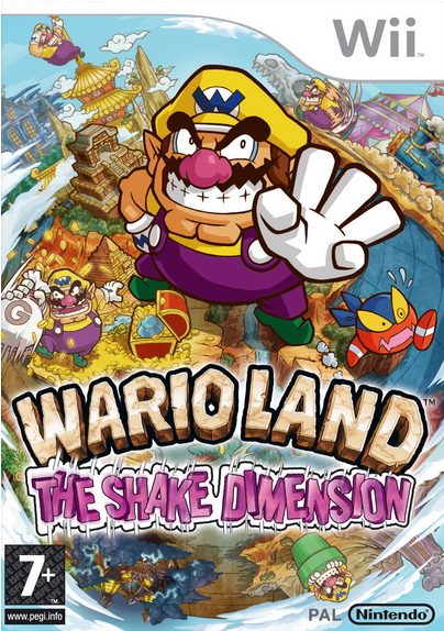 wario land the shake dimension cover