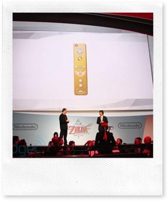 Il Wii Remote dorato