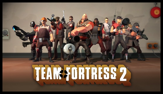 Team Fortress 2 - group photo