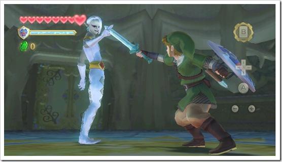 Link vs Emo Zora