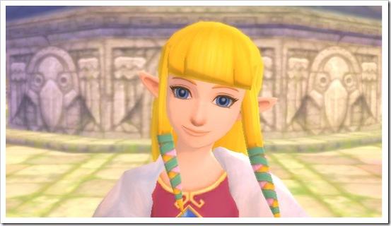 Il nuovo carinissimo look della principessa Zelda