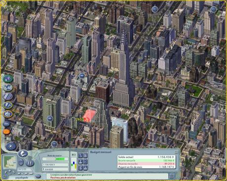 Sim City 4 screen