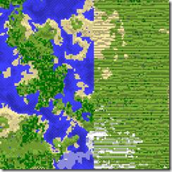 Mappa esempio delle Far Lands