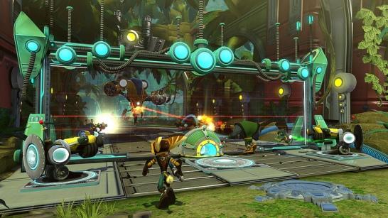 Ratchet & Clank QForce screen