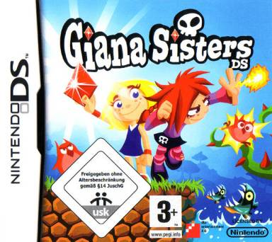 Giana Sisters DS cover