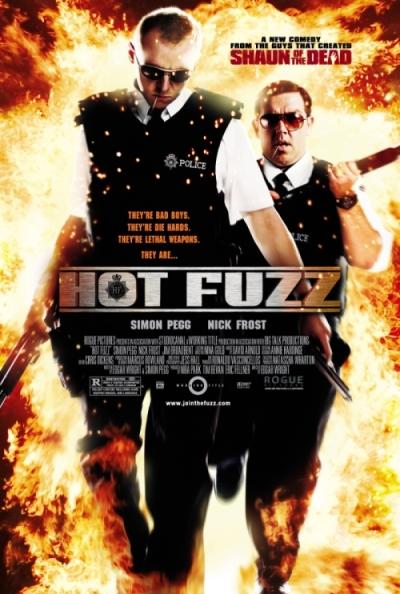 hot fuzz locandina