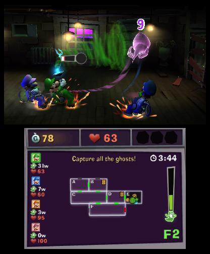 Luigi's Mansion 2 scarescraper