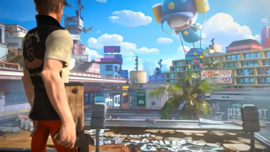 Sunset Overdrive screen