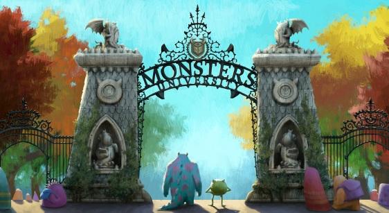 Monsters University art