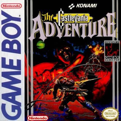 castlevania the adventure gb cover