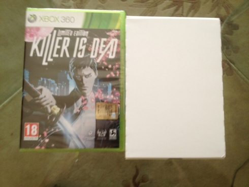 killer is dead fan edition contents