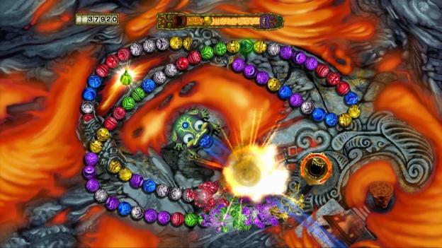zuma revenge screenshot