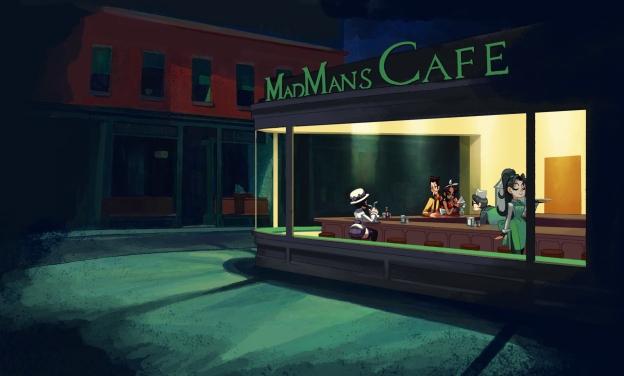 skullgirls madman's cafè