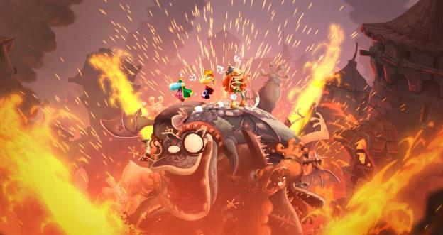 Rayman legends castle rock