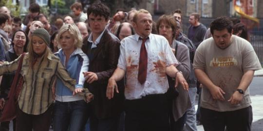 Shaun of the dead zombie walk