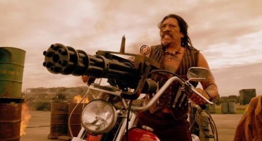 machete machinegun ride