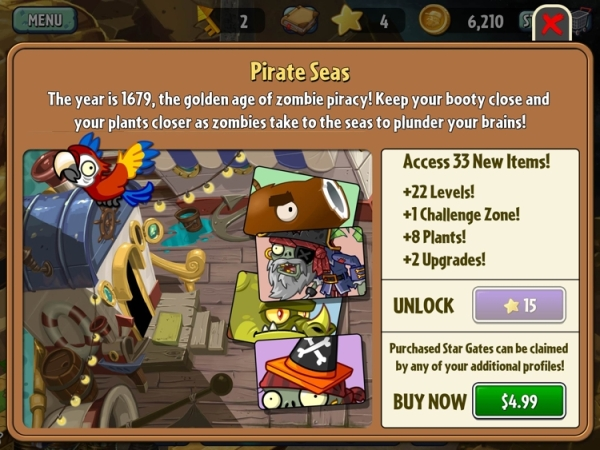 plants vs zombies 2 pay to win