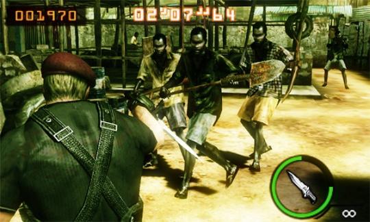 Resident Evil The Mercenaries 3D majin
