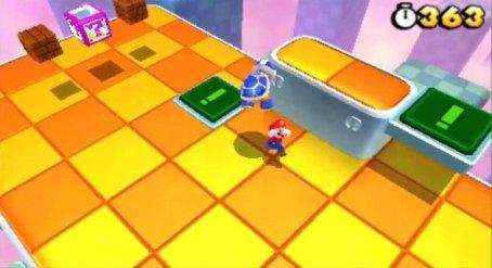 Super Mario 3D Land screen