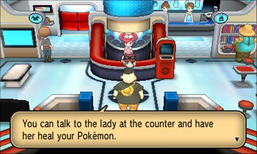 Molto apprezzato l'unire il tutto nel Centro Pokémon.
