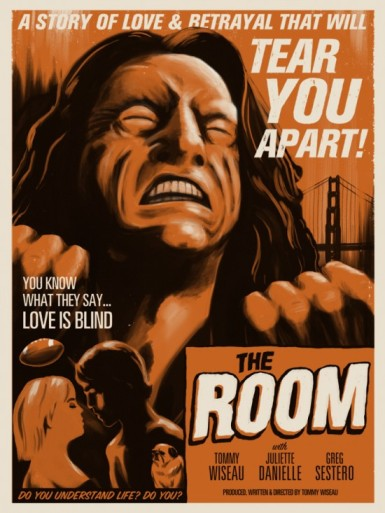 The Room fake poster