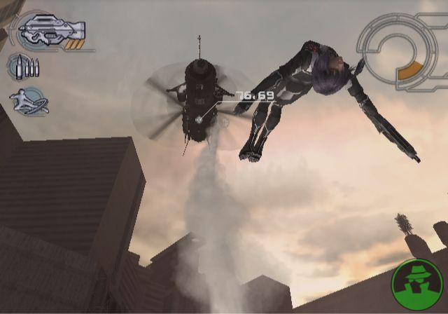 GITS PS2 jumping motoko