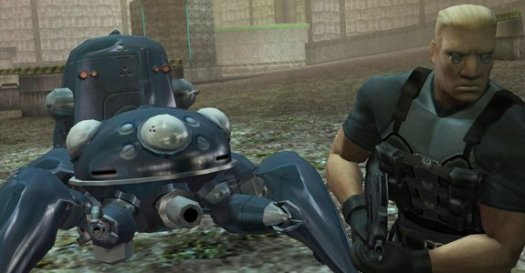 gits sac ps2 batou and tachikoma