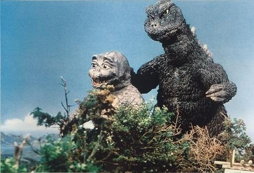 For he truly is the son of godzilla