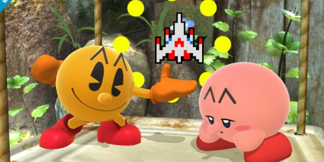 Super Smash Bros. Pac-Man joins in!