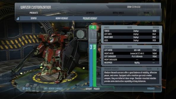 front mission evolved personalizzazione