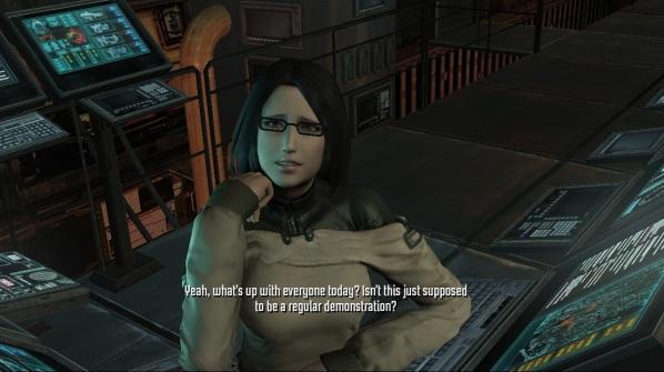 front mission evolved cutscene