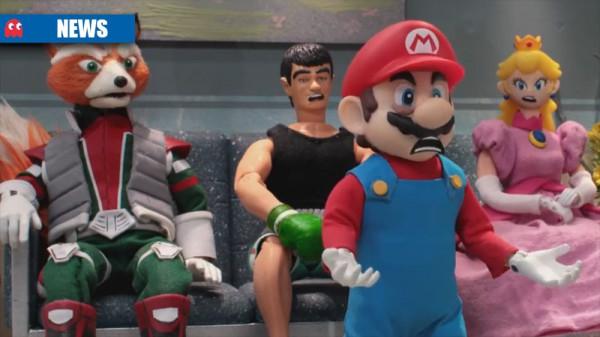 Altra sorpresa gradita da Nintendo è stato l'ingaggiare Robot Chicken per farsi prendere per il culo, non mi sarei mai immaginato di vedere questo connubio....ufficialmente. :D