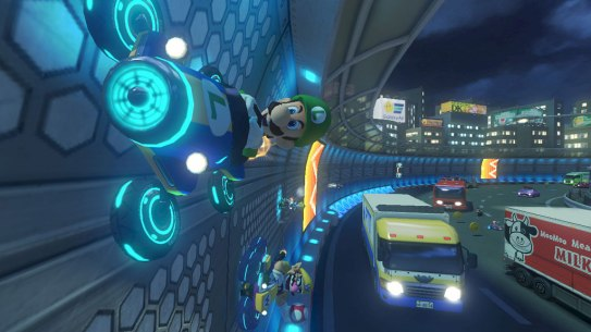 Mario Kart 8 antigravity