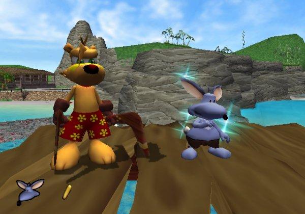 """Lo giuro su Chtulu, c'è tipo una nota di differenza tra il jingle """"creature get"""" di Banjo-Kazooie e quello in Ty."""