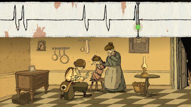 Valiant Hearts The Great War medic gameplay