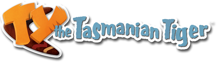 ty the tasmanian tiger logo