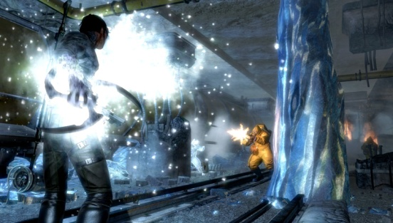 Dark Sector glaive elemental play