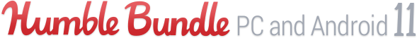Humble Bundle: PC and Android 11 - logo