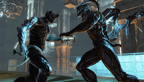 Dark Sector boss fight