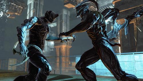 Dark Sector boss fight