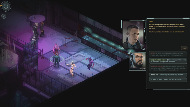 shadowrun dragonfall dc screenshot 2