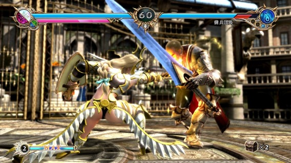 Soul calibur lost swords screenshot battle